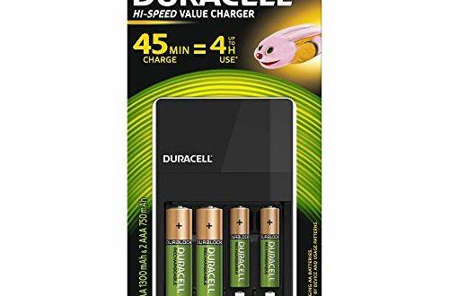 Duracell 45 Minuten Batterieladegerät, 1 Stck.